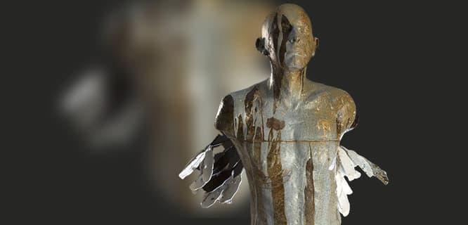 Rzeźba artystyczna / lampy